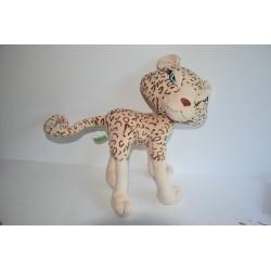 Állítható plüss leopárd