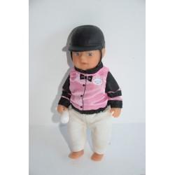 Baby Born Miniworld baba lovas szettben