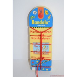 Bandolo készségfejlesztő fűzős párosító játék Set 45 Iskolaelőkészítő