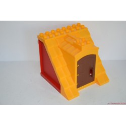 Lego Duplo padlástér elem nyitható ajtóval