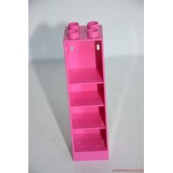 Lego Duplo rózsaszín polcos szekrény