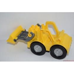 Lego Duplo sárga markoló munkagép