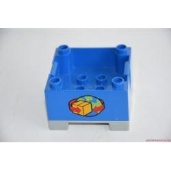 Lego Duplo kék teherautó rakormány elem