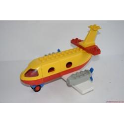 Vintage Lego Duplo piros-sárga repülőgép