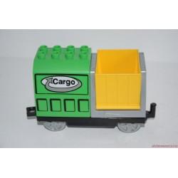 Lego Duplo Cargo billenős vagon, vasúti kocsi