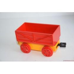 Lego Duplo piros-sárga vagon