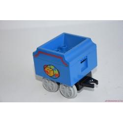 Lego Duplo kék vagon, vasúti kocsi