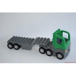 Lego Duplo utánfutós zöld kamion