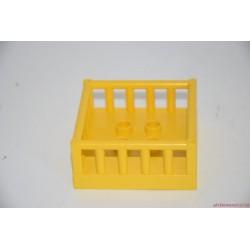 Lego Duplo sárga kosár rakomány elem: vonatvagonra, kamion platóra