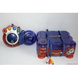 Vtech Vsmile sötétkék játék alapgép joystickkal