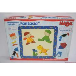 HABA 2286 Fantasia kreatív képkirakó társasjáték RITKASÁG