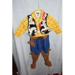 Toy Story Woody seriff farsangi jelmez 2-3 évesnek