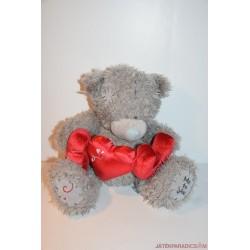 Tatty Teddy Me To You maci plüss szívecskékkel