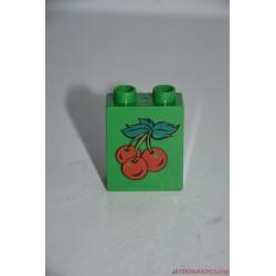 Lego Duplo cseresznye képes elem