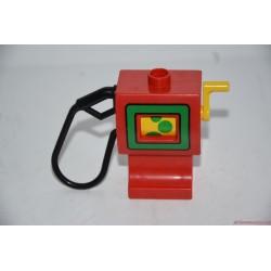 Lego Duplo Benzinkút: piros tankoló állomás
