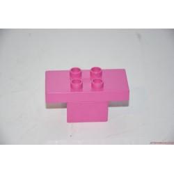 Lego Duplo építhető rózsaszín asztal