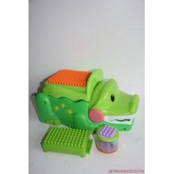 Fisher-Price Kockafaló krokodil, Peek a Boo kockákkal