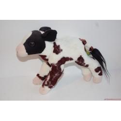 Élethű plüss tehén borjú, boci