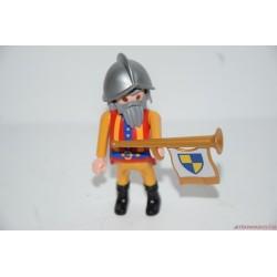 Playmobil középkori lovag zászlóval