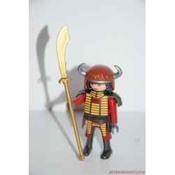 Playmobil ázsiai harcos középkori katona lándzsával