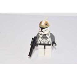 LEGO Star Wars 8014 Clone Gunner tüzér klón minifigura, sw221