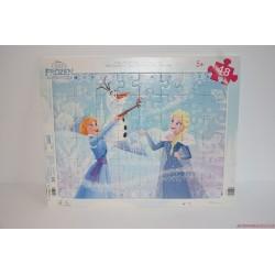 Disney Jégvarázs: Elza, Olaf és Anna puzzle kirakós játék
