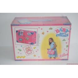 Baby Born Miniworld bőrönd lak Új!!!