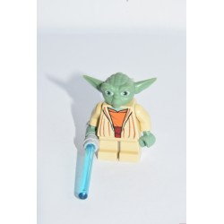 LEGO Star Wars: Yoda Jedi mester minifigura, sw0685