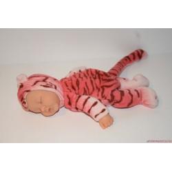 Anne Geddes fekvő tigris baba