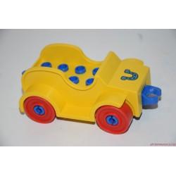 Lego Duplo építhető sárga autó
