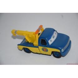 Verdák kék platós vontatós kisautó