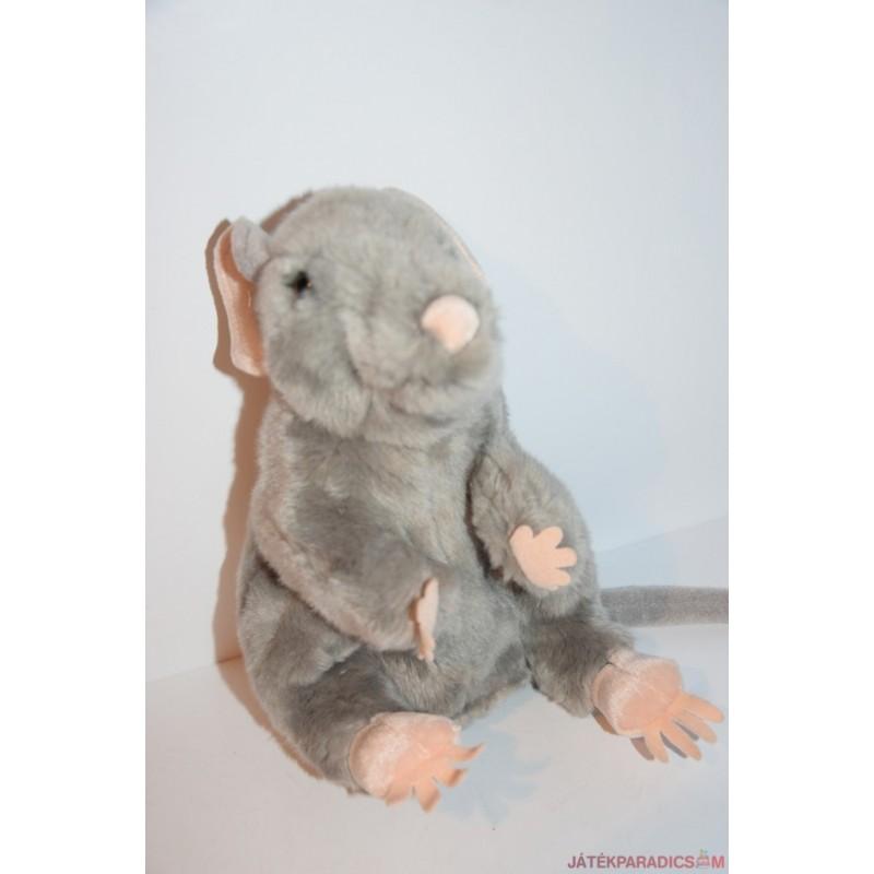Élethű patkány plüss báb