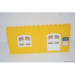 Lego Duplo sárga fal ablakkal és ajtóval