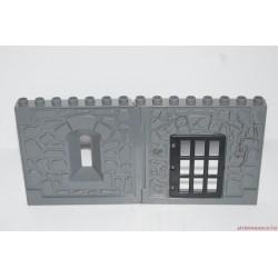 Lego Duplo börtönfal ablakkal és ajtóval
