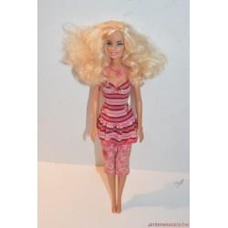 Mattel Barbie csíkos ruhában