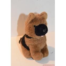 Rex felügyelő plüss németjuhász kutya