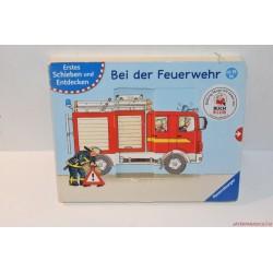 Bei der Feuerwehr kemény lapos német nyelvű könyv