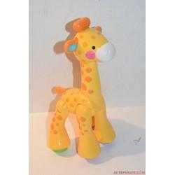 Fisher-Price tekergetős csörgős zsiráf