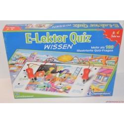 E-lektor Quiz párosító társasjáték