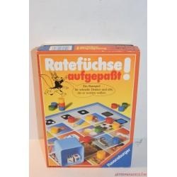 Vintage Ratefüchse Aufgepasst társasjáték
