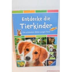 Entdeke die Tierkinder német könyv