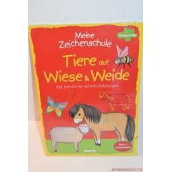 Tiere auf Wiese & Weide német könyv Új
