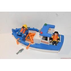 Playmobil halászhajó készlet