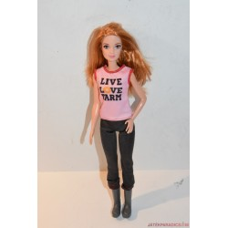 Mattel Barbie baba farmer együttesben