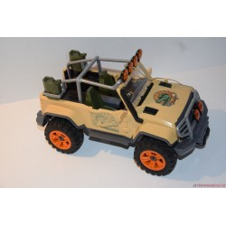 Schleich krokodilvadász Jeep terepjáró