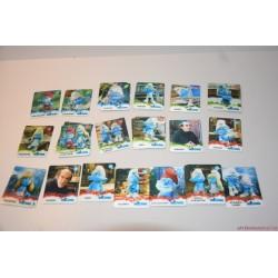 Hupikék törpikék 2D kártyák