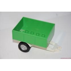 Lego Duplo zöld utánfutó