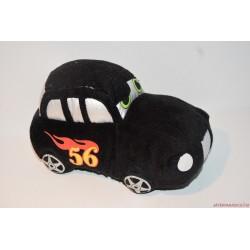 Fekete plüss 56-os rajtszámú autó