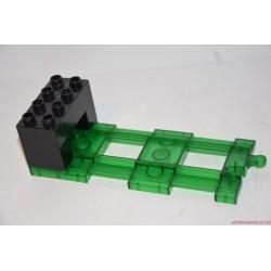 Lego Duplo zöld egyenes sín vég elem