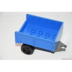 Lego Duplo kék utánfutó